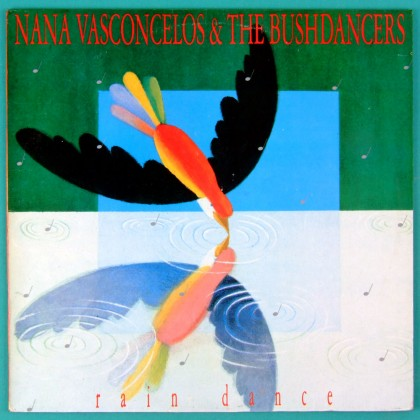 LP NANA VASCONCELOS THE BUSHDANCERS - PERCUSSION BRAZIL
