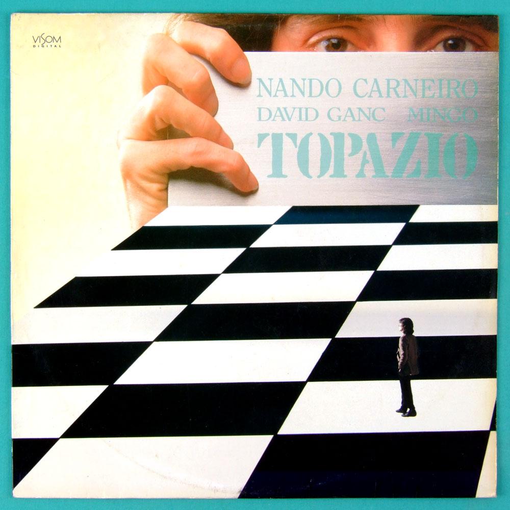 LP NANDO CARNEIRO 1980 DAVID GANC MINGO TOPAZIO - MPB BRAZIL