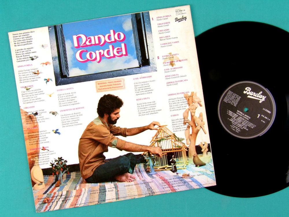 LP NANDO CORDEL ESTRELA AFOITA 1983 NORTHEASTERN BRAZIL