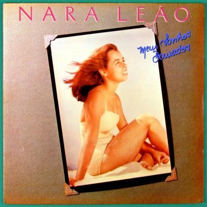 LP NARA LEAO MEUS SONHOS DOURADOS 1987 FOLK BOSSA BRAZIL
