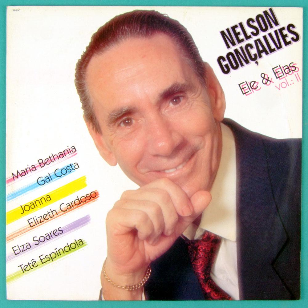 LP NELSON GONCALVES ELE & ELAS VOL2 BOSSA SAMBA BRAZIL