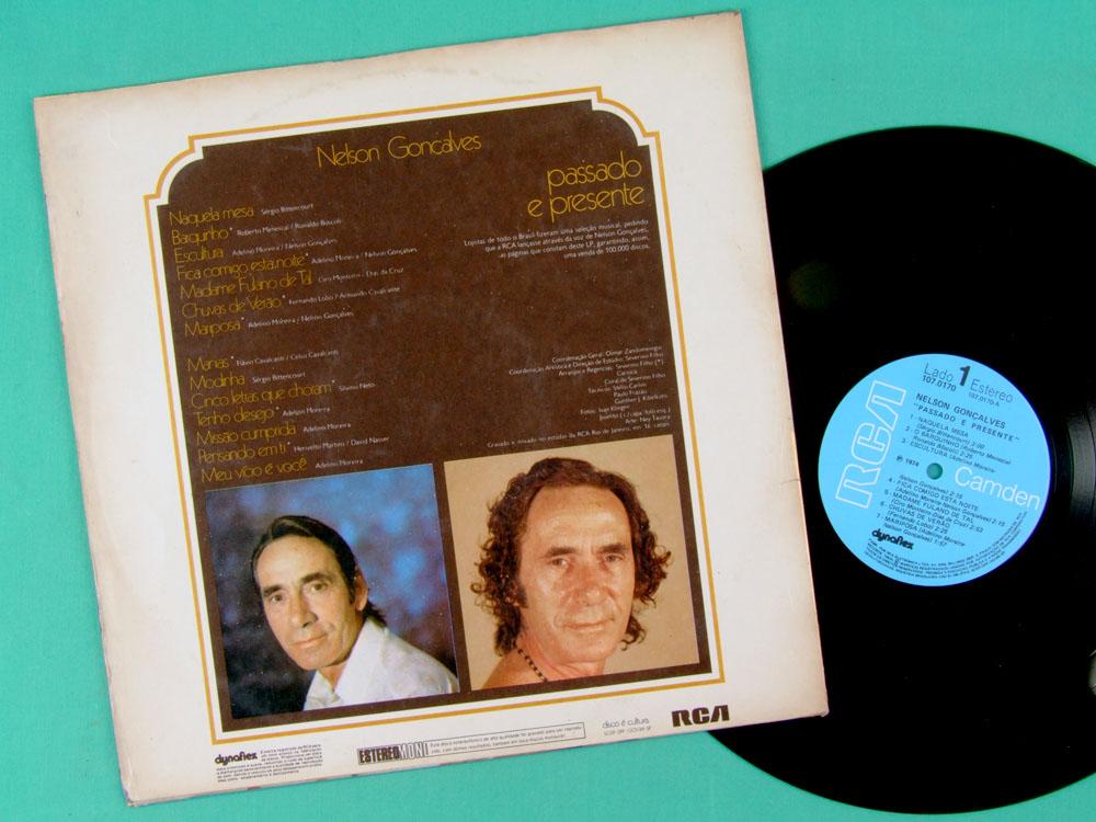 LP NELSON GONCALVES PASSADO E PRESENTE 1974 SAMBA BRAZIL