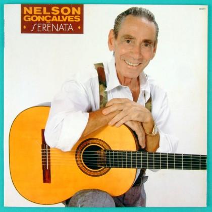 LP NELSON GONCALVES SERENATA 1991 FOLK BOSSA SAMBA BRAZIL