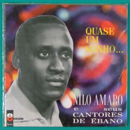 LP NILO AMARO QUASE UM SONHO 1984 SAMBA BOSSA  BRAZIL