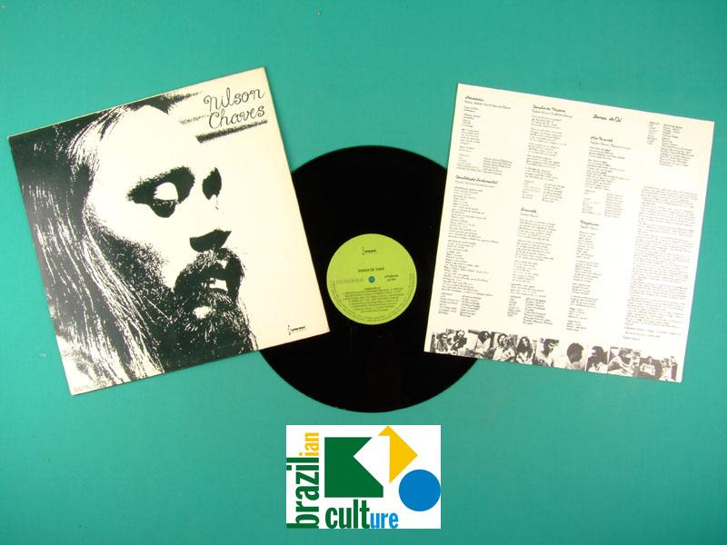 LP NILSON CHAVES DANCA DE TUDO 1981 FOLK REGIONAL BRAZIL