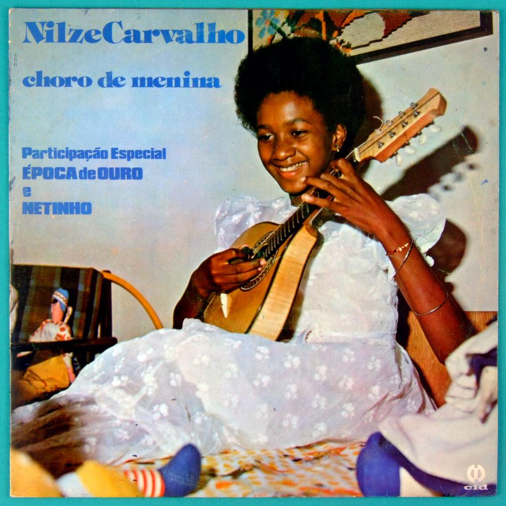 LP NILZE CARVALHO CHORO DE MENINA MANDOLIM SAMBA BRAZIL