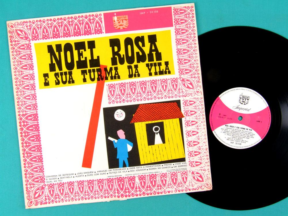 LP NOEL ROSA TURMA DA VILA 1968 SAMBA CHORO FOLK BRAZIL