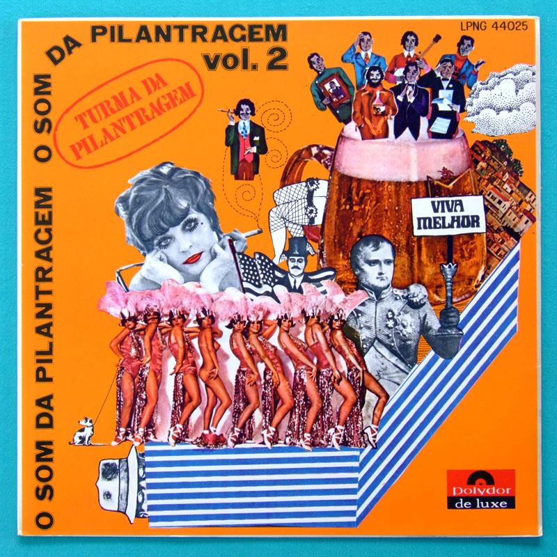 LP A TURMA DA PILANTRAGEM O SOM V.2 1969 NONATO BUZAR BRAZIL