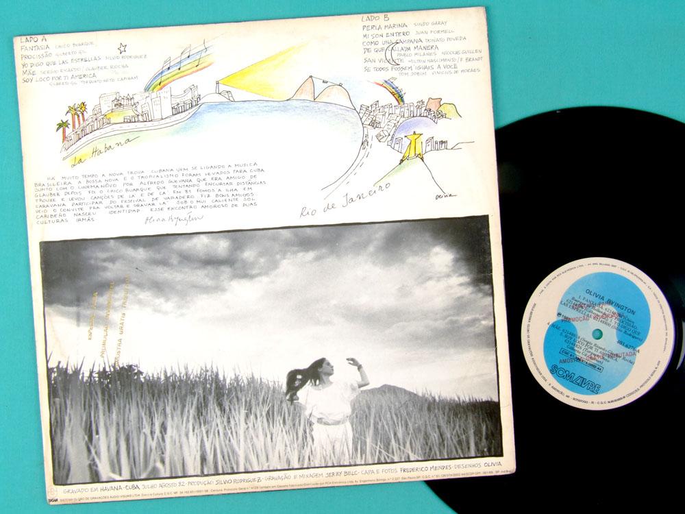 LP OLIVIA BYINGTON IDENTIDAD 1983 SAMBA JAZZ FOLK BRAZIL