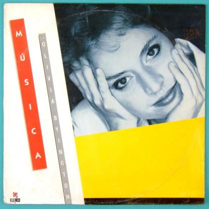 LP OLIVIA BYINGTON MUSICA 1984 - SAMBA JAZZ FOLK BRAZIL