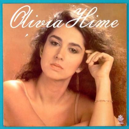 LP OLIVIA HIME 1981 FRANCIS FOLK  BOSSA NOVA MPB BRAZIL