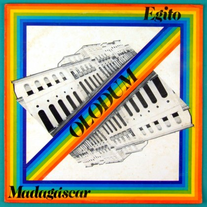 LP OLODUM EGITO MADAGASCAR 1987 SAMBA REGGAE MPB BRAZIL