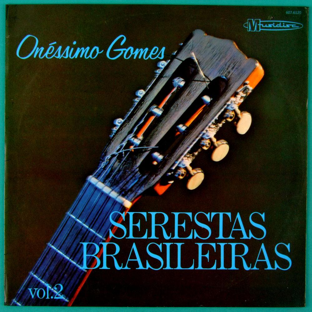 LP ONESSIMO GOMES SERESTAS BRASILEIRAS VOL.2 1980 BRAZIL