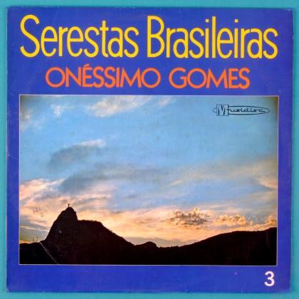 LP ONESSIMO GOMES SERESTAS BRASILEIRAS VOL.3 MPB BRAZIL