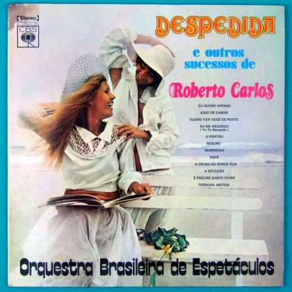 LP ORQUESTRA BRASILEIRA ESPETACULOS ROBERTO CARLOS 1974 BRAZIL