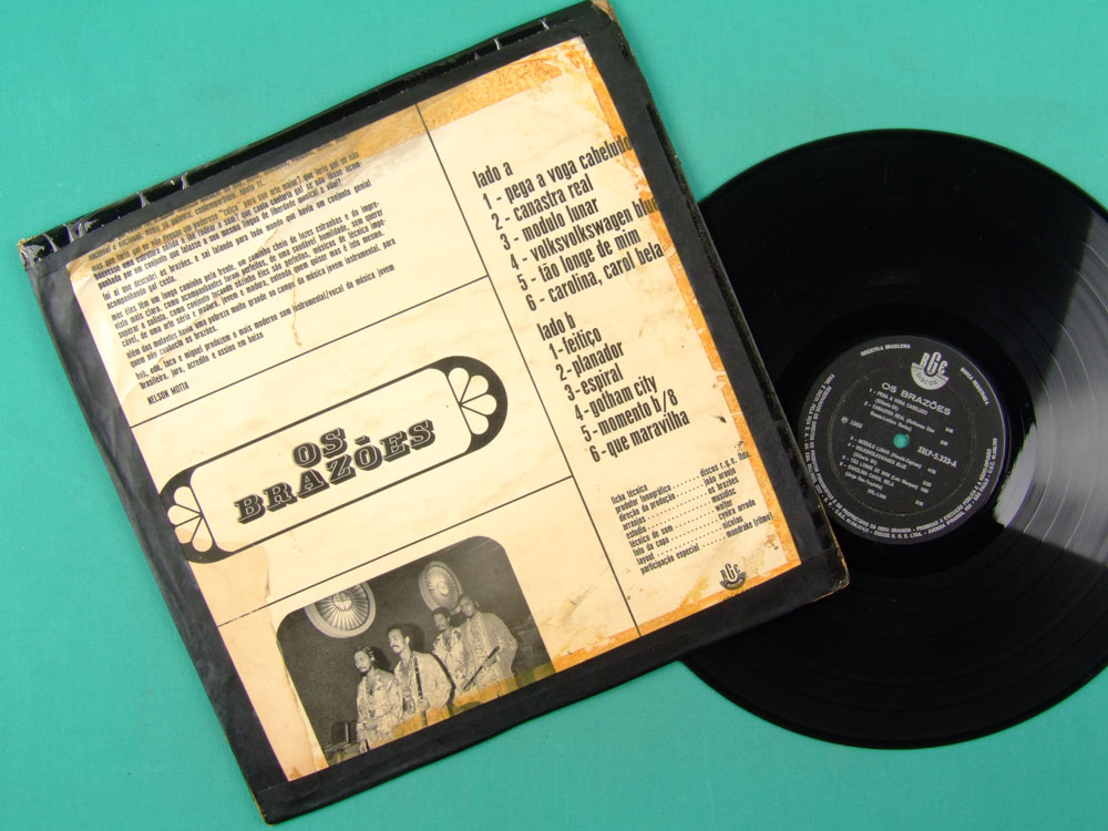 LP OS BRAZOES 1969 POKORA MIGUEL DE DEUS ROGERIO DUPRAT PSYCH BRAZIL