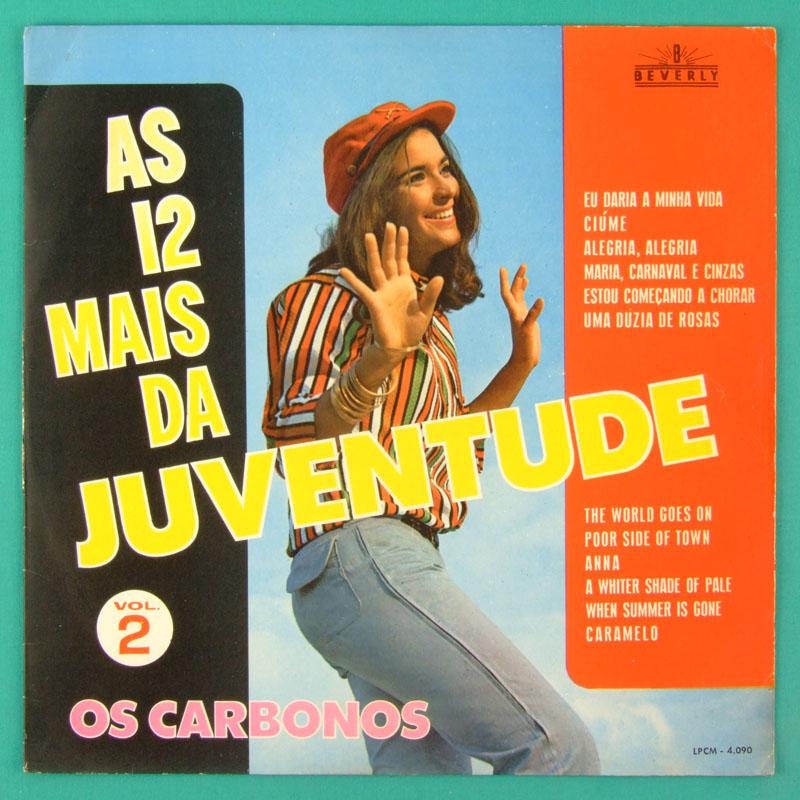 LP OS CARBONOS AS 12 MAIS DA JUVENTUDE VOL 2 POKORA BRAZIL