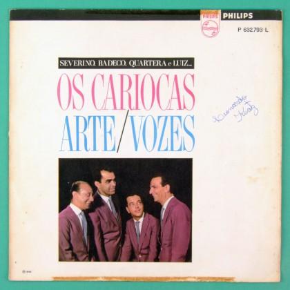 LP OS CARIOCAS ARTE / VOZES 1966 BOSSA JAZZ SAMBA BRAZIL