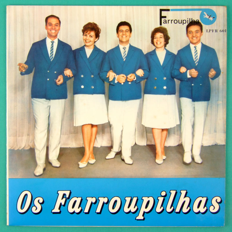 LP OS FARROUPILHAS 1963 BOSSA NOVA CHOIR NEAR MINT BRAZIL