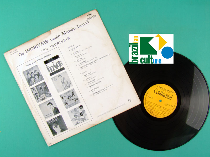 LP OS INCRIVEIS NESTE MUNDO LOUCO 1967 BEAT POKORA BRAZIL