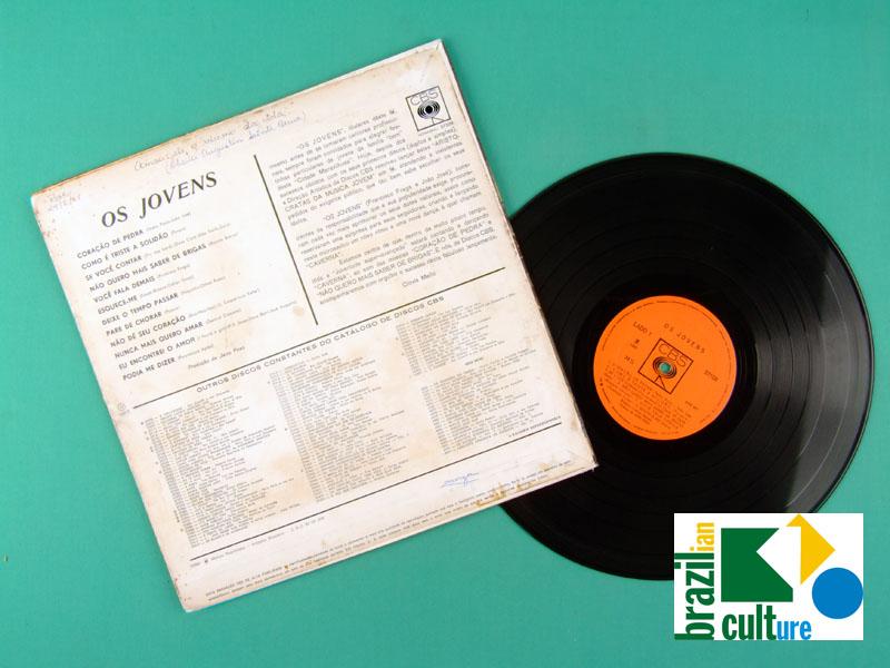 LP OS JOVENS 1967 MONO BEAT GARAGE JOVEM GUARDA FOLK POP ORIGINAL POKORA BRAZIL