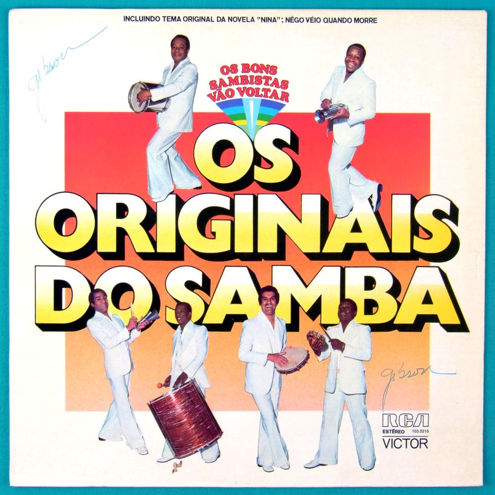LP OS ORIGINAIS DO SAMBA 1977 SOUL FOLK FUNK MPB BRAZIL
