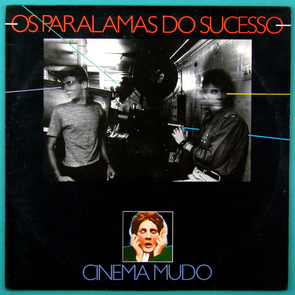 LP OS PARALAMAS DO SUCESSO CINEMA MUDO 1983 ROCK FOLK BRAZIL