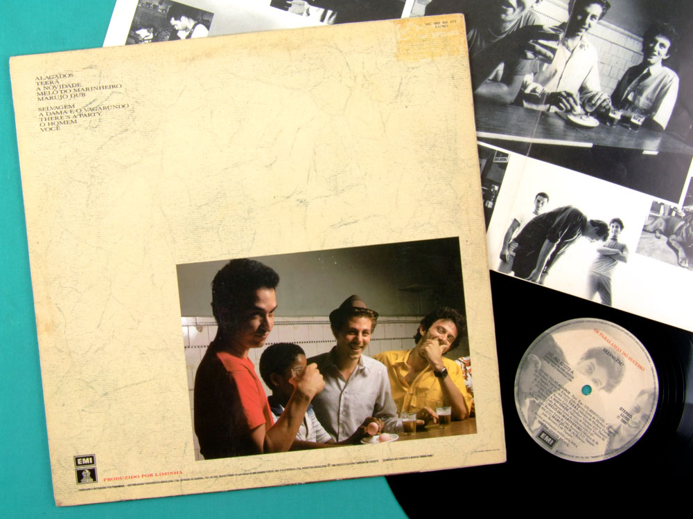LP OS PARALAMAS DO SUCESSO SELVAGEM 1986 ROCK FOLK BRAZIL