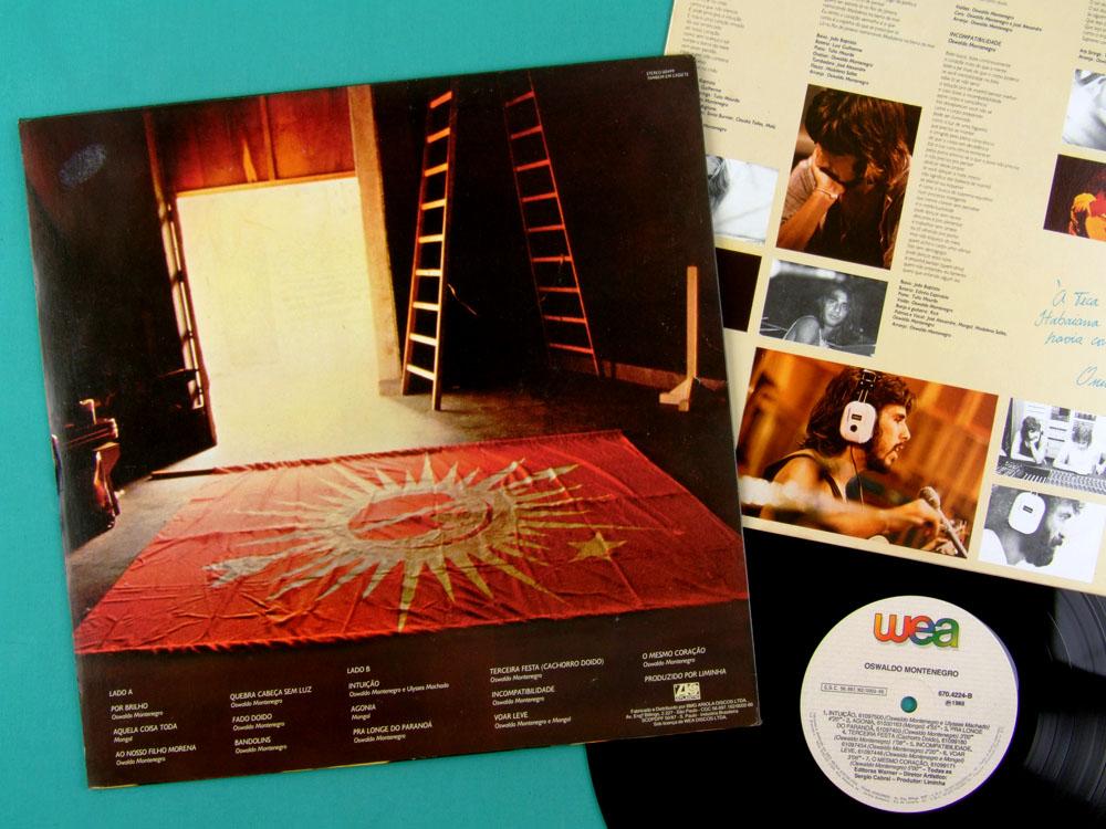 LP OSWALDO MONTENEGRO MONGOL 1988 FOLK POP ROCK BRAZIL
