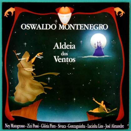 LP OSWALDO MONTENEGRO ALDEIA DOS VENTOS POP FOLK BRAZIL