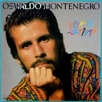 LP OSWALDO MONTENEGRO VIDA DE ARTISTA FOLK PSYCH BRAZIL