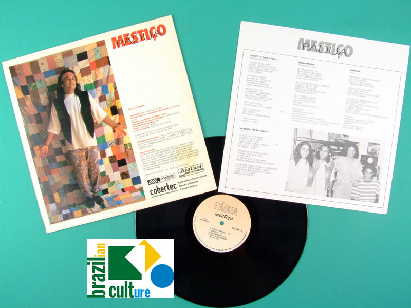 LP PADUA MESTICO 1993 FOLK GROOVE REGIONAL PSYCH AFRO SERGIO SAMPAIO BRAZIL