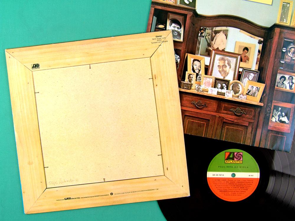 LP PAULINHO DA VIOLA 1981 SAMBA CHORO ROOTS MPB  BRAZIL