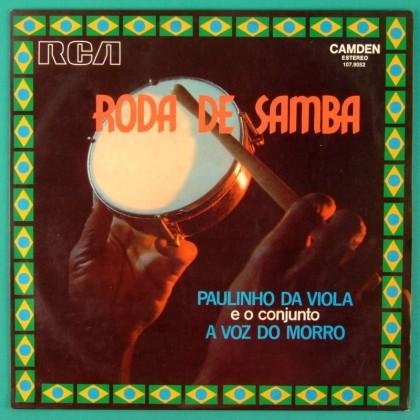 LP PAULINHO DA VIOLA E O CONJUNTO A VOZ DO MORRO RODA DE SAMBA BRAZIL