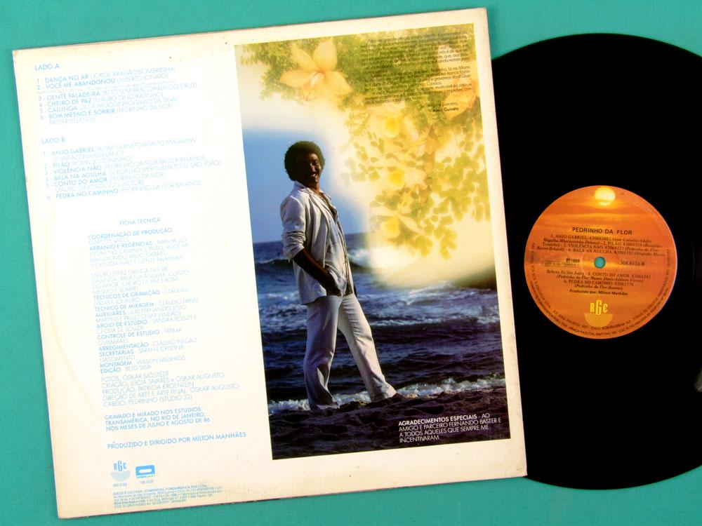 LP PEDRINHO DA FLOR 1986 MONARCO SAMBA ROOT FOLK BRAZIL