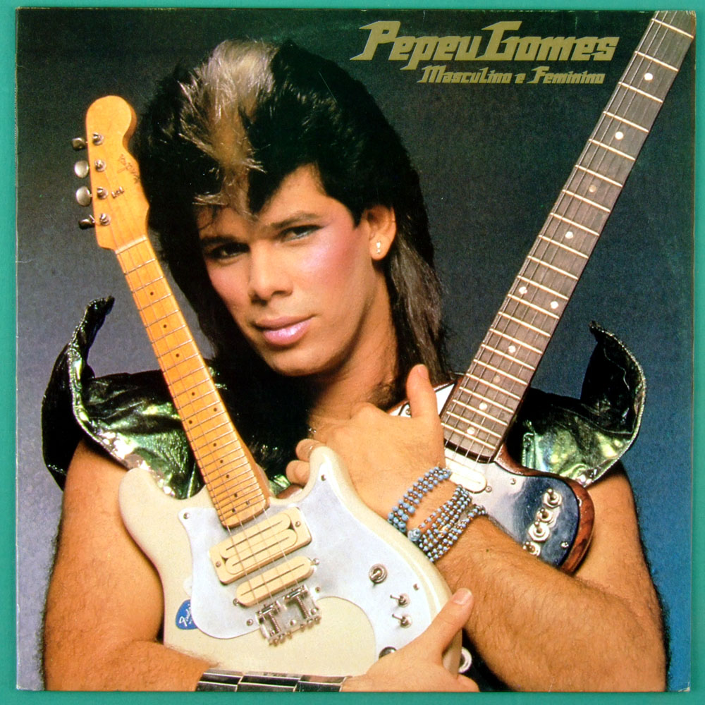 LP PEPEU GOMES MASCULINO E FEMININO 1983 PSYCH POP BRAZIL