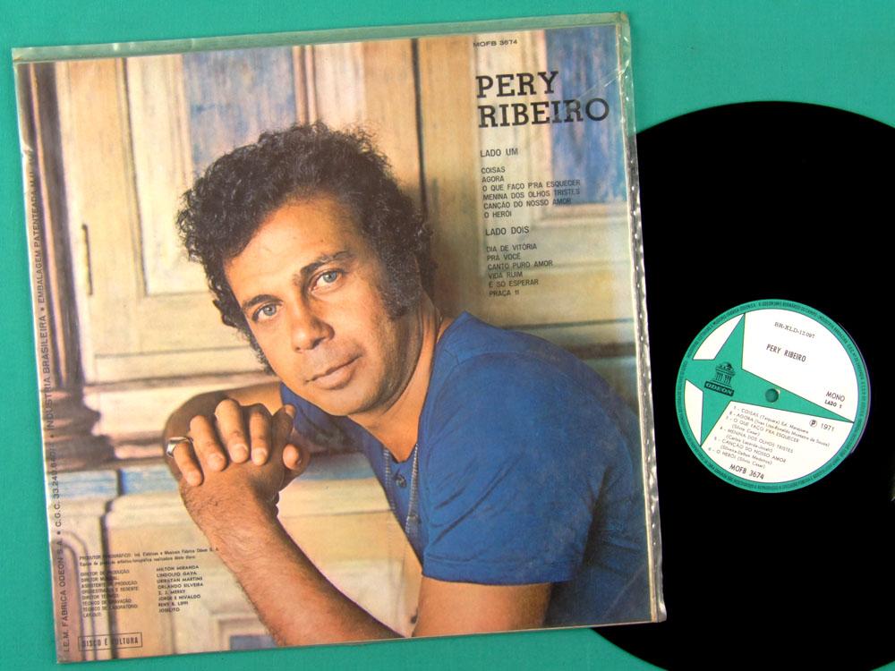 LP PERY RIBEIRO 1971 MONO BOSSA SAMBA JAZZ FOLK MPB BRAZIL