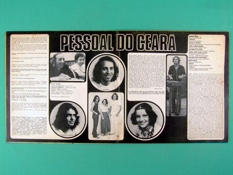 LP PESSOAL DO CEARA MEU CORPO MINHA IMAGEM EDNARDO TETI HARETON SALVANINI BRAZIL