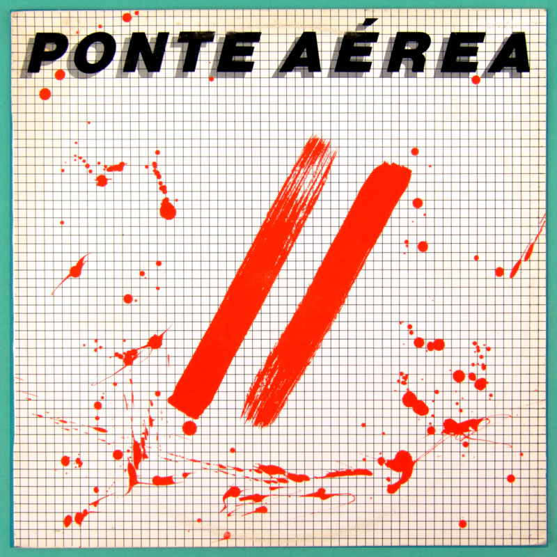 LP PONTE AEREA II 2 DOIS 1983 JAZZ GROOVE INSTRUMENTAL BRAZIL