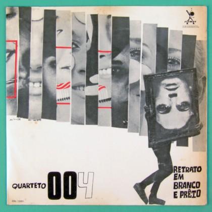 LP QUARTETO 004 RETRATO EM PRETO E BRANCO 1968 TOM JOBIM DEODATO WATEL BRANCO BRAZIL