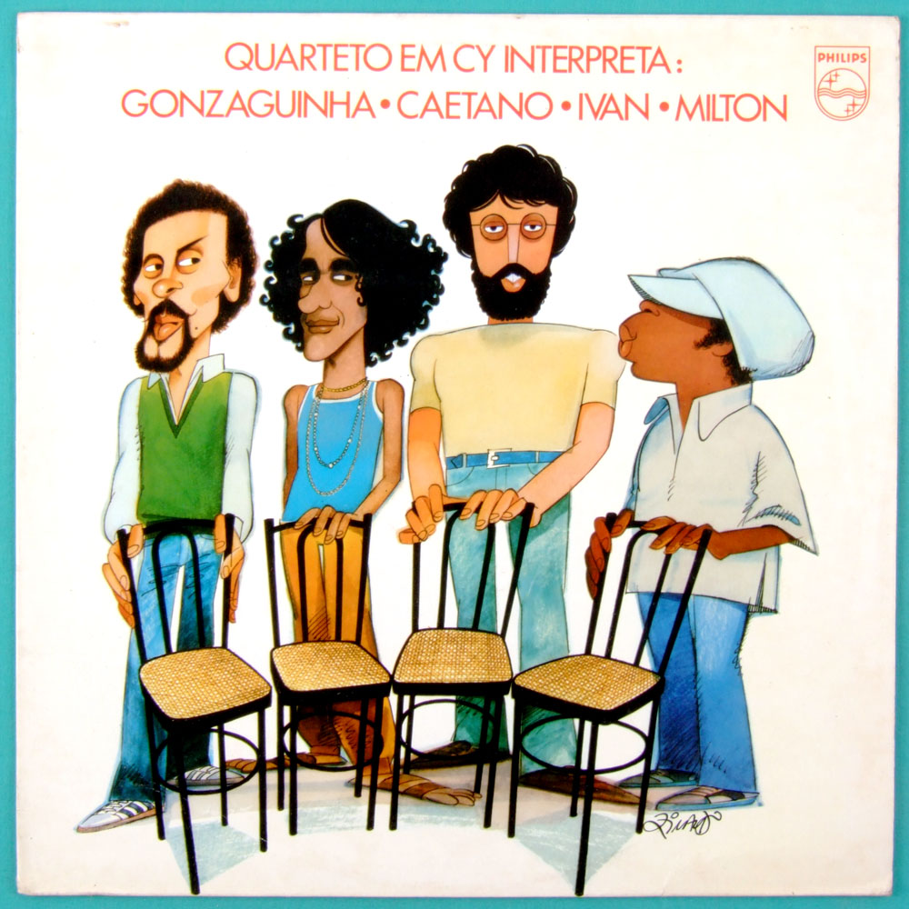 LP QUARTETO EM CY INTERPRETA 1980 BOSSA SAMBA JAZZ BRAZIL