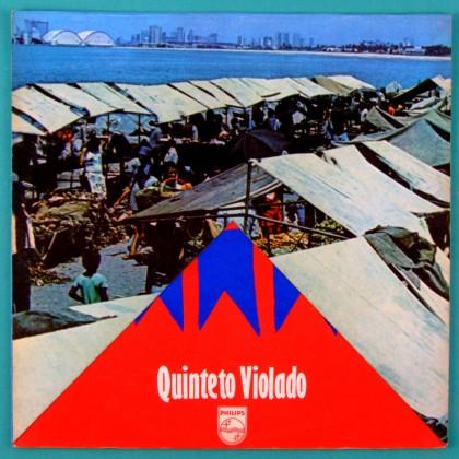 LP QUINTETO VIOLADO A FEIRA 1974 MPB REGIONAL FOLK BRAZIL