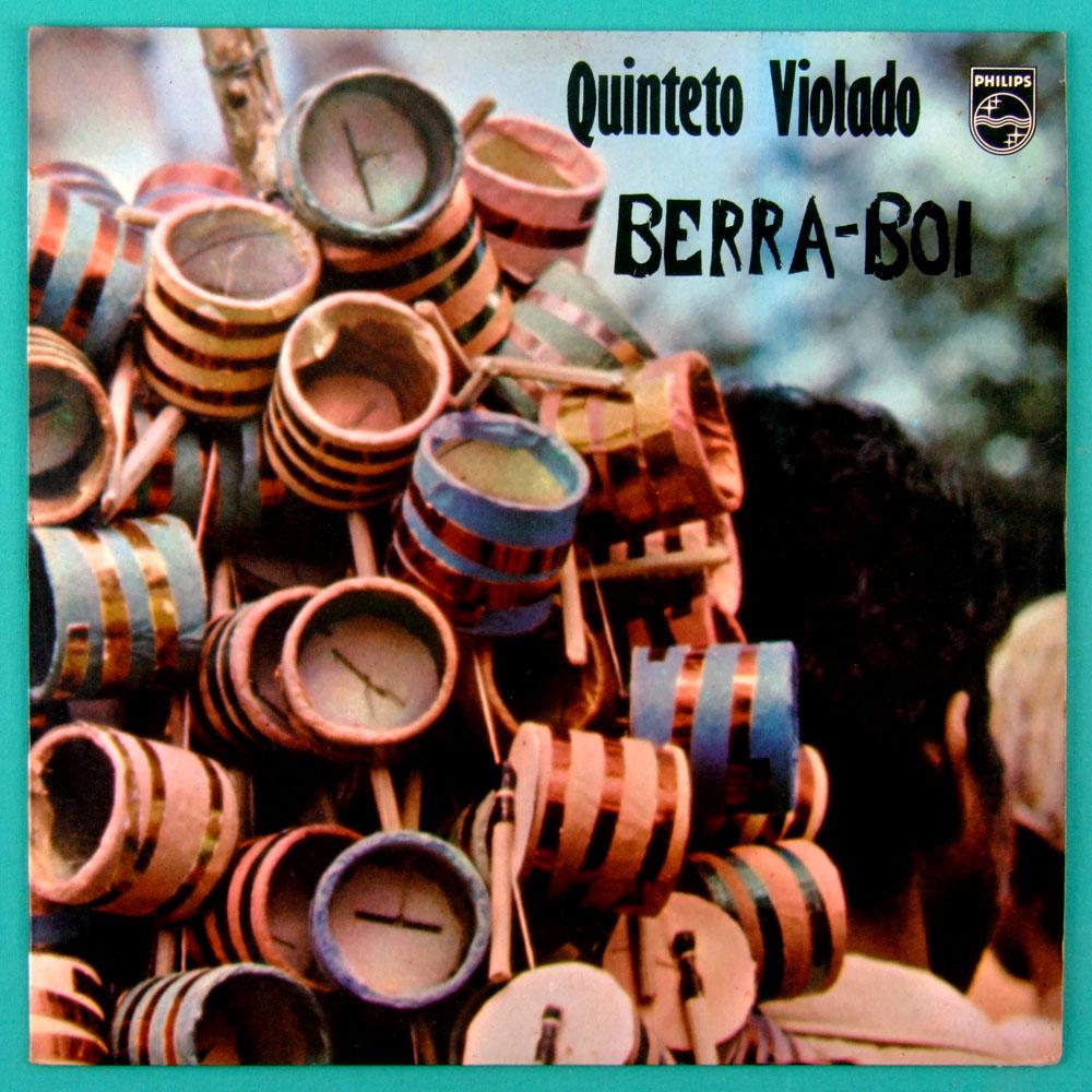LP QUINTETO VIOLADO BERRA-BOI 1973 FOLK REGIONAL BRAZIL