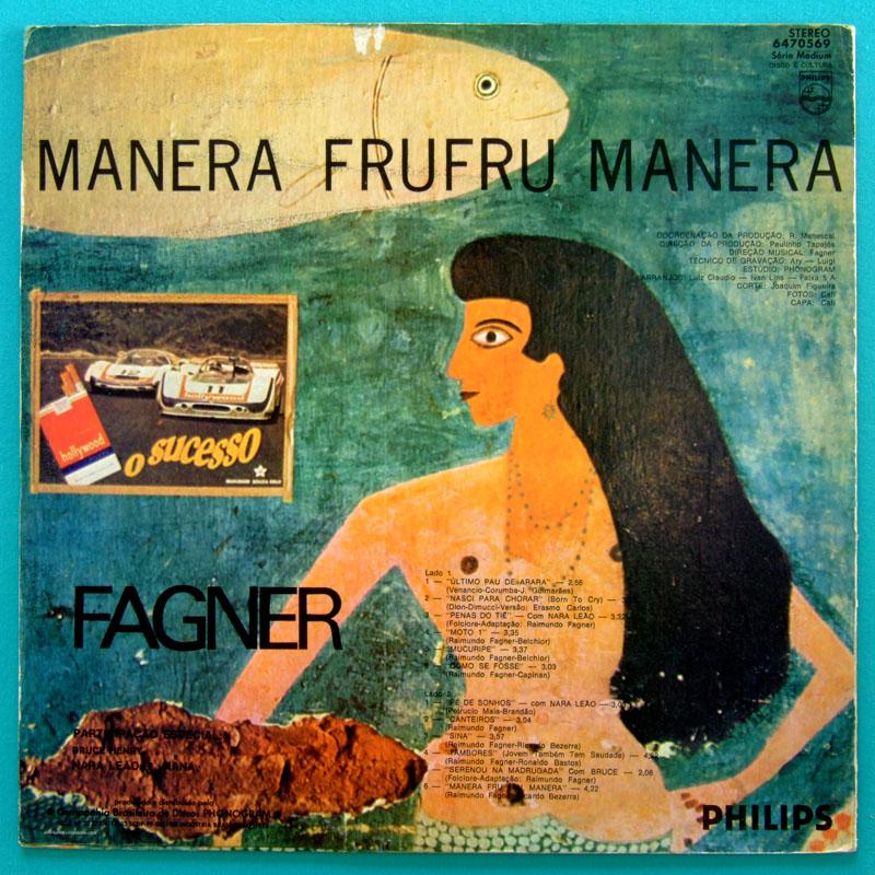 LP FAGNER MANERA FRU MANERA 1973 FOLK PSYCH REGIONAL BRAZIL