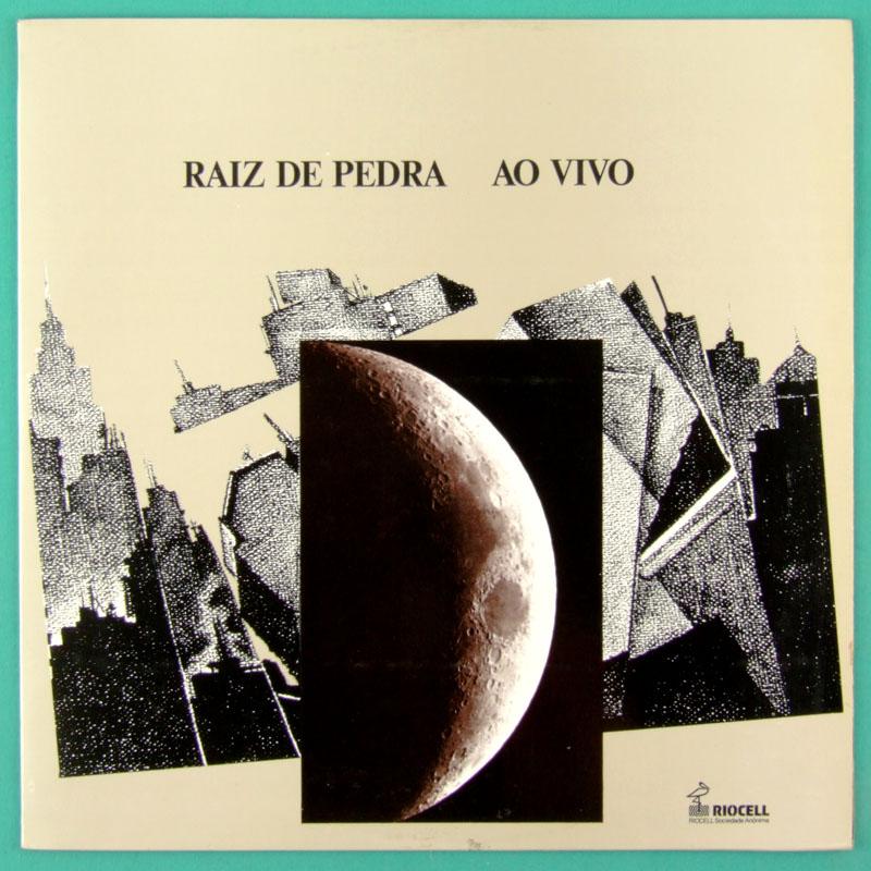 LP RAIZ DE PEDRA AO VIVO 1988 PROGRESSIVE FOLK IND BRAZIL