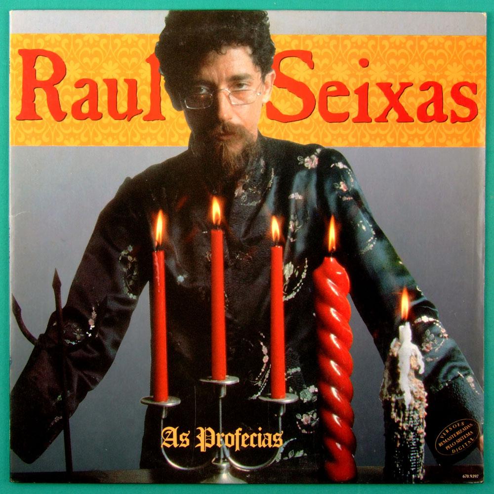 LP RAUL SEIXAS AS PROFECIAS 1991 ROCK FOLK PSYCH BRAZIL