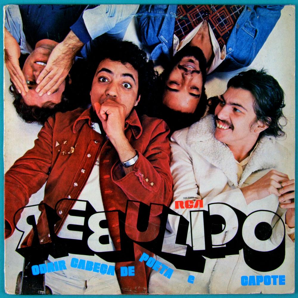 LP ODAIR CABECA DE POETA GRUPO CAPOTE REBULICO 1979 CLEMENTINA DE JESUS BRAZIL