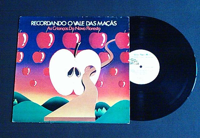 LP RECORDANDO O VALE DAS MACAS RURAL ROCK FLOWER POWER PSYCH FOLK HIPPIE BRAZIL