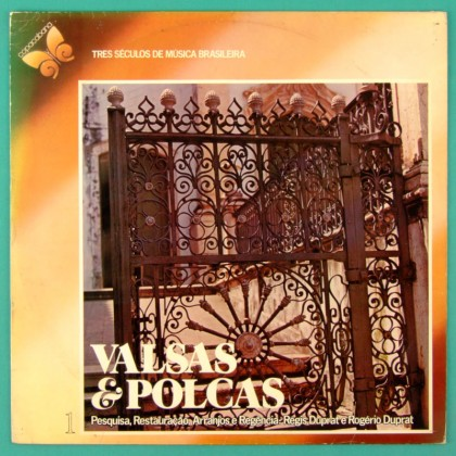 LP REGIS DUPRAT E ROGERIO DUPRAT VALSAS E POLCAS 1978 BRAZIL