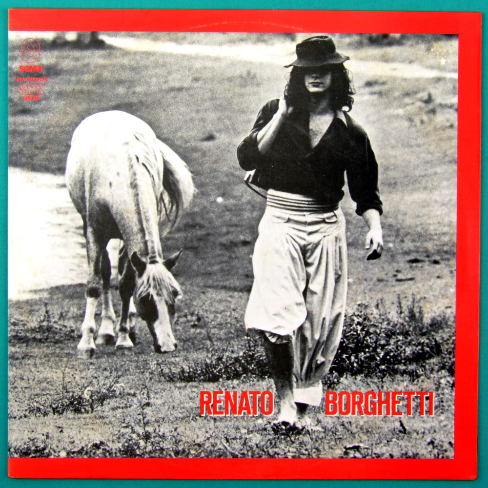 LP RENATO BORGHETTI GAITA PONTO 1984 REGIONAL FOLK BRAZIL
